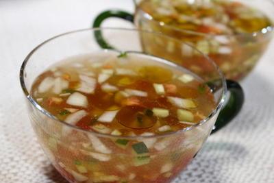 365日レシピNo.178「夏野菜の冷たいスープ」