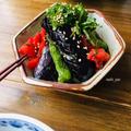 トマトと紫蘇の漬け汁でさっぱり!夏野菜揚げ浸し。