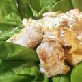 魚・野菜好き集合!サラダが主役のタラの山椒タルタルは薄味がgood(糖質5.9g)