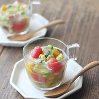 ■【ヤマキだし部】たっぷり夏野菜のおだしスープ♪