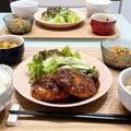 【献立】豆腐でも満足ガッツリ!!!お豆腐ハンバーグ