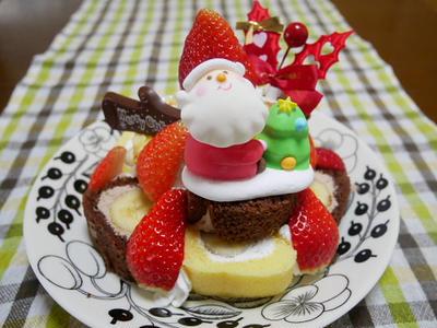 アートキャンディのケーキオーナメントで一足早いクリスマス☆