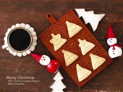 初心者なのにこんなに本格的♡クリスマスクッキー♪雑な工程写真(笑)