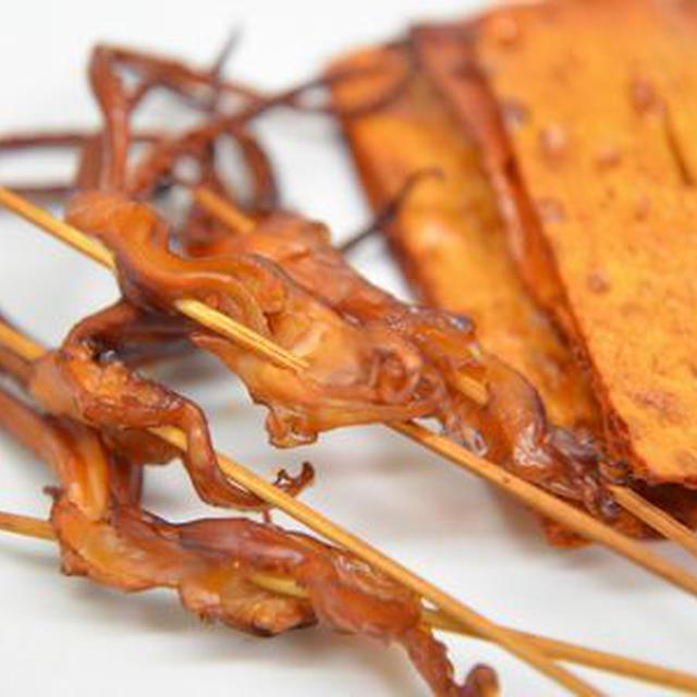 酢イカの熱燻製