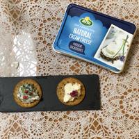チーズディップ2種 甘酒とクリームチーズ、あおさとクリームチーズ