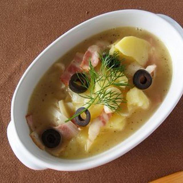 ジャガイモと鱈のほっこりすぅぷ煮