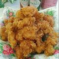 さくうま☆ビールが進む♪鶏むね肉のマヨパン粉揚げ by Mariさん