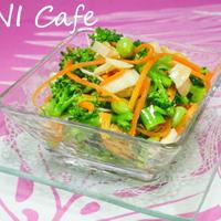 三種野菜と帆立風味サラダ