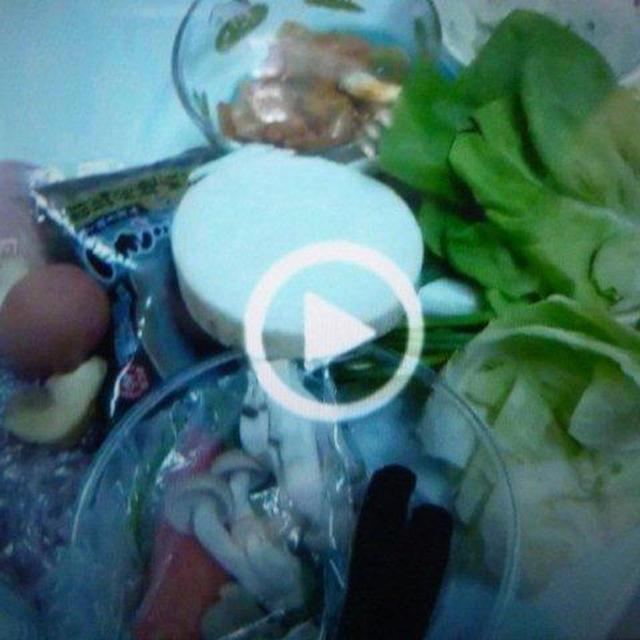 あまり食材の豚汁と豆腐ハンバーグ他♪