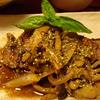 豚バラ肉ときのこのバルサミコ風味ソテー