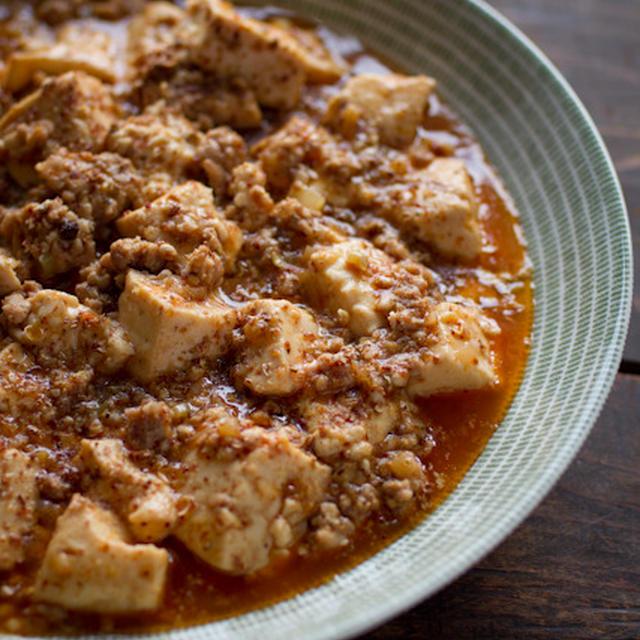 豆腐の辛い煮込み ☆ あるもので麻婆豆腐