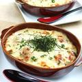 牡蠣とごぼうの西京味噌クリームドリア