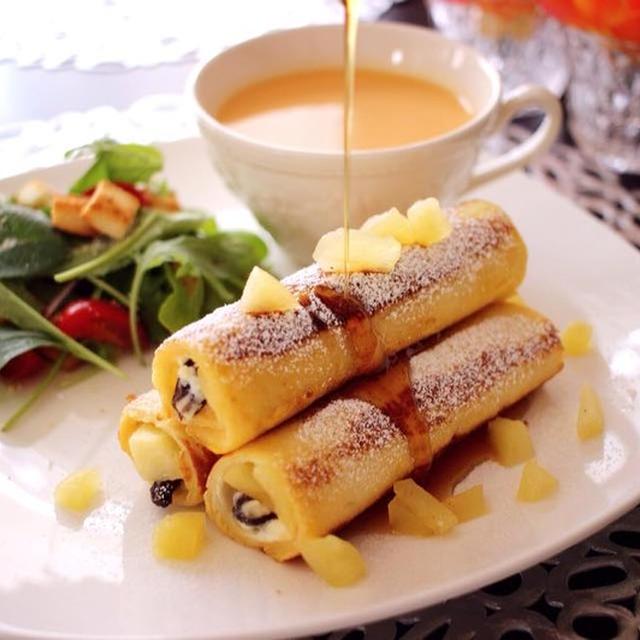 話題のフレトー巻きの簡単レシピ♪時短!アレンジ自在で朝にぴったり!