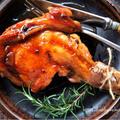 ♡簡単豪華♡フライパンローストチキン♡【#クリスマス#鶏肉#レシピ#再掲載】