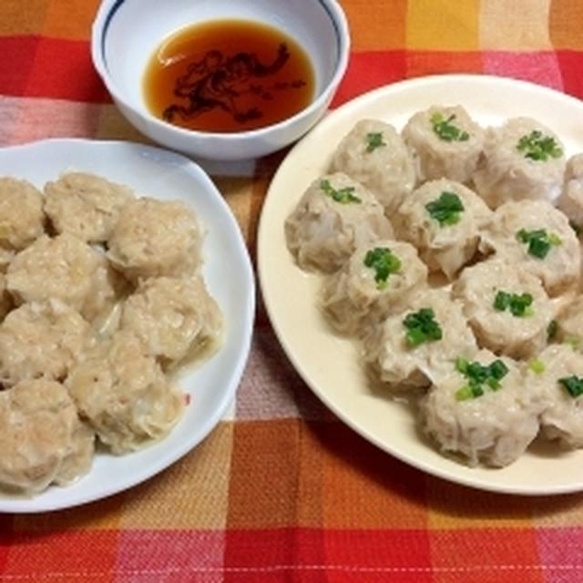 豆腐と豚肉の焼売
