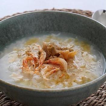 絶品「帆立とザーサイの中華粥」*と、高齢者におすすめのコンビニ食品(お知らせ)