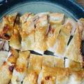 胡麻油香る♡どっさりたまねぎの鶏塩焼き。