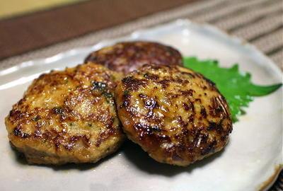 16/09/25 味噌キムチハンバーグ