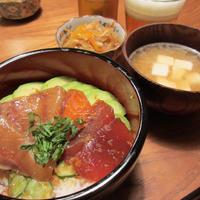suntoryクラフトセレクト「ゴールデンエール」と漬け丼