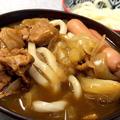 【カレーうどん】週末は野菜室一掃~お鍋にもスープにもなる~