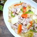 残り野菜♪白菜と豚肉で八宝菜風の塩炒め by たっきーママ(奥田和美)さん
