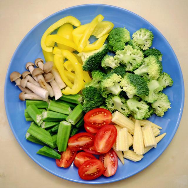 Raw Marinated Vegetables
