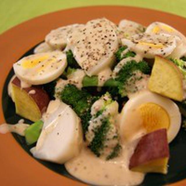 温野菜サラダ。