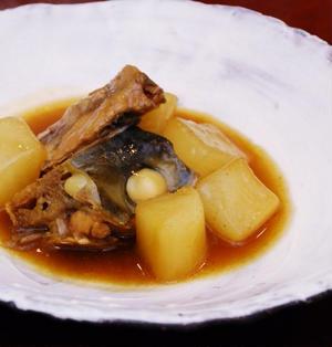 ブリ大根のカレー煮