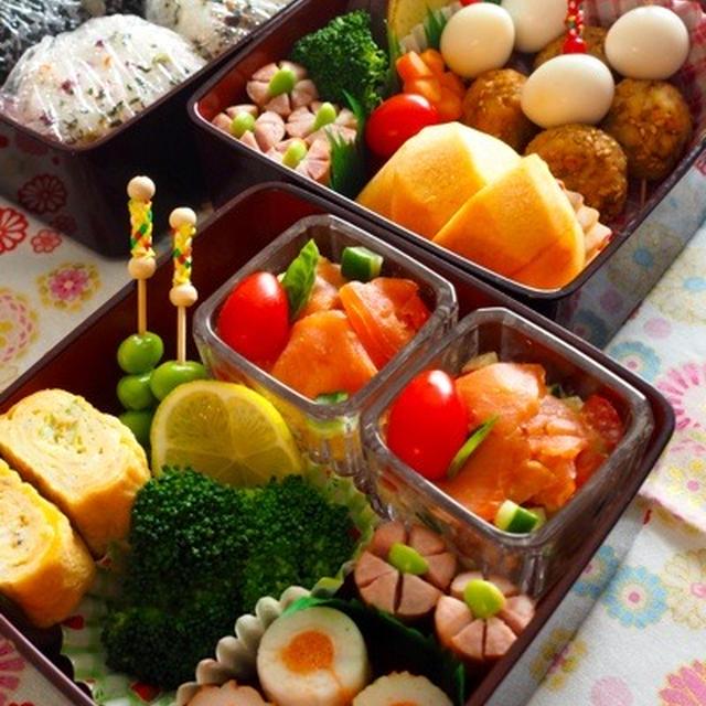 お弁当持って昭和記念公園に♪