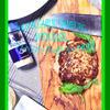 バジルのハンバーグ