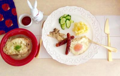THE 朝ごはん。