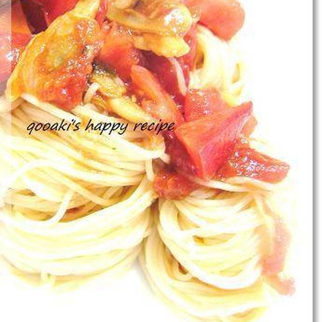 ■アサリとトマトの冷製Pasta