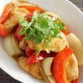 鶏肉とパプリカの中華風マリネ