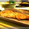 秋鮭の一味噌漬け焼き