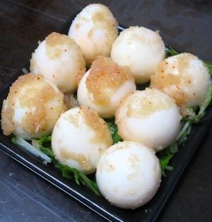 うずら卵の明太ピクルス