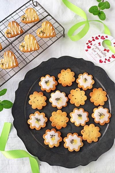 配れるバレンタイン!爽やかサクサクレモンミントクッキー&鏡開きの餅レシピ