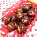 ドライマンゴーとくるみのクッキー*チョコレート包み♪