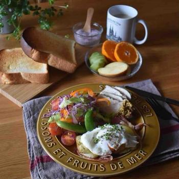 食べやすさを重視した朝ごはん。