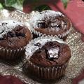 【お菓子レシピ】今年のバレンタインデーはダブルチョコのカップケーキでした。