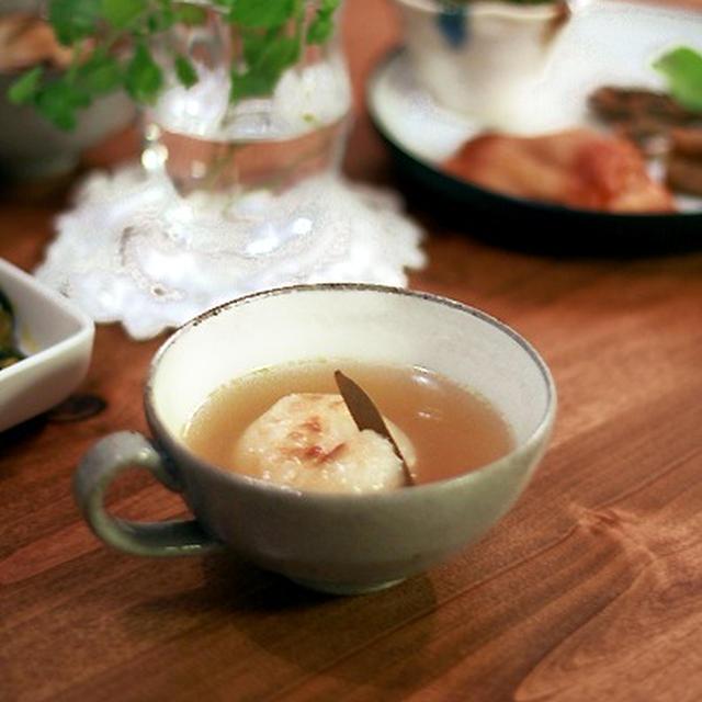 秋の気配とほかほか玉葱スープ