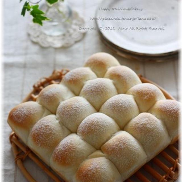 白くないけど白パン♪