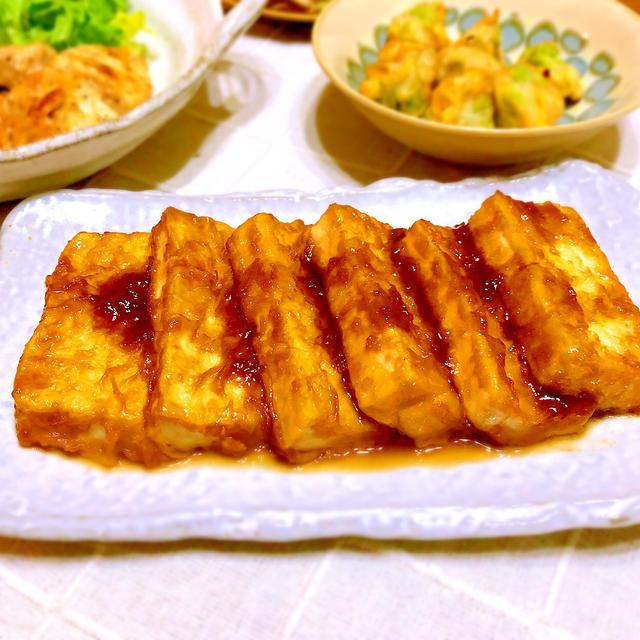 ステーキ 人気 豆腐 レシピ