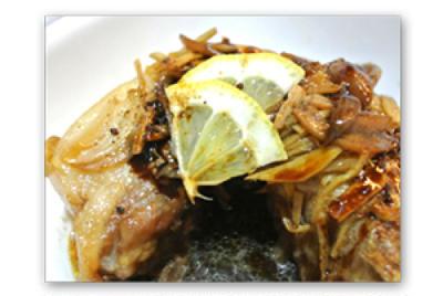 豚ばら肉の黒砂糖と生姜の煮込み【Poitrine de porc au Sucre brut et Gingembre】