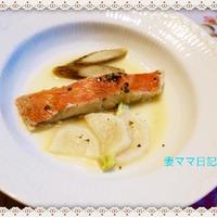 ハーブ風味・金目鯛のスープ煮♪