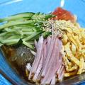365日野菜レシピNo.248「ところてんの冷やし中華風」