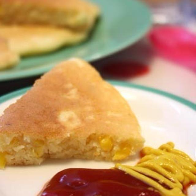 安心&節約♪「自家製ホットケーキMIXの作り方」と「ツナコーンパンケーキ」