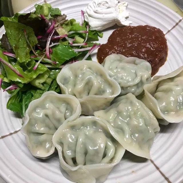【餃子レシピ】夏におすすめ!青菜のペリメニ風餃子の作り方【バルメニュー】