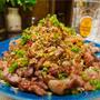【レシピ】カリカリ豚こまともやしのやみつき香味ダレ