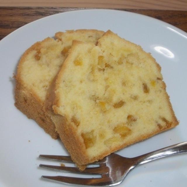 和かんきつのパウンドケーキ