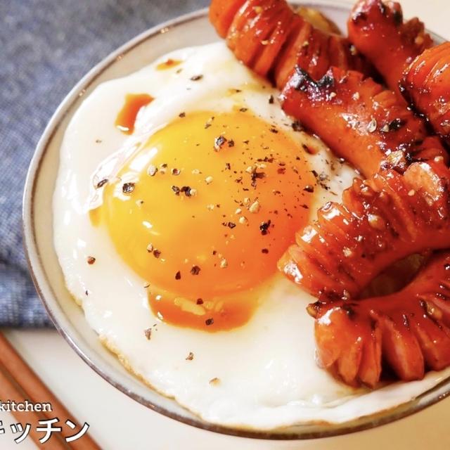 ソーセージと卵の世界一美味しい食べ方はこれだ!!『ガリバタソーセージエッグ』の作り方